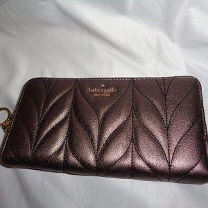 Kate Spade Briar Lane Quilted Neda Clutch Wallet